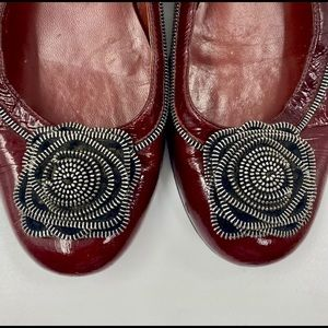 MARC by MARC JACOBS Maroon Flats Shoes